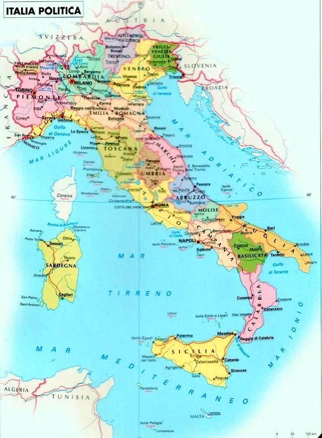 Cartina Politica Italia Capoluoghi.Italia Capoluoghi Parma Moneglia
