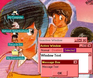 Anteprima tema del desktop di Maison Ikkoku