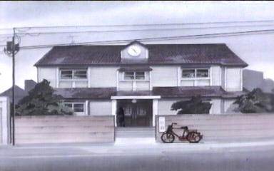 La Maison Ikkoku vista di fronte in MI LAST MOVIE