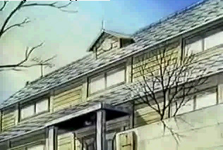La Maison Ikkoku vista di fronte nell'episodio n. 1 ~ serie TV