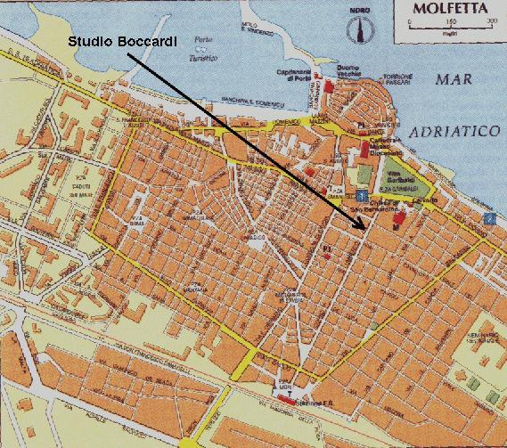 Cartina Puglia Molfetta.Avvocato Mario Boccardi