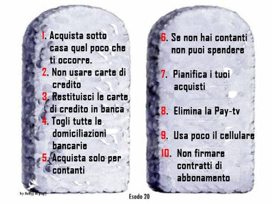 i 10 comandamenti spaccanapoli bologna - photo#3