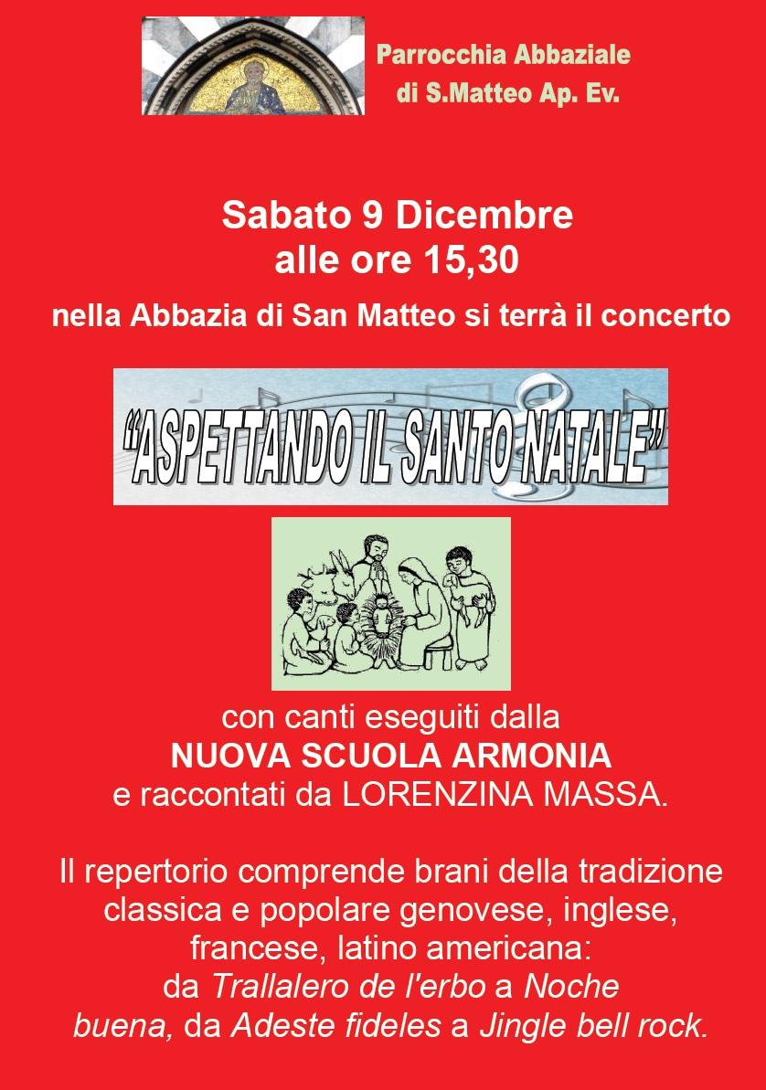 Canti di Natale - Concerto Sabato 9 Dicembre 2017