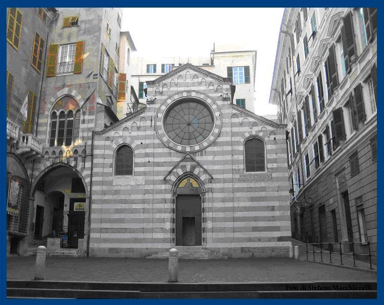 ABBAZIA SAN MATTEO – Parrocchia Abbaziale di San Matteo Apostolo Evangelista - Genova