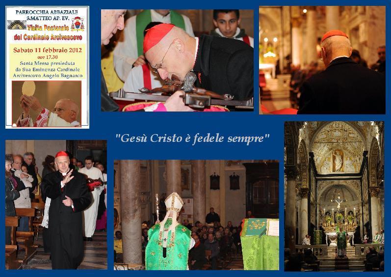 Parrocchia San Matteo - Visita pastorale Arcivescovo Angelo Bagnasco - Parrocchia Abbaziale - Genova - Abbazia