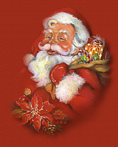 Babbo Natale Questanno Verra Filastrocca.Filastrocche E Poesie Di Natale Babbo Natale E Il Suo Pancione