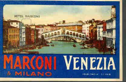 Raccolta etichette italiane for Hotel marconi milano