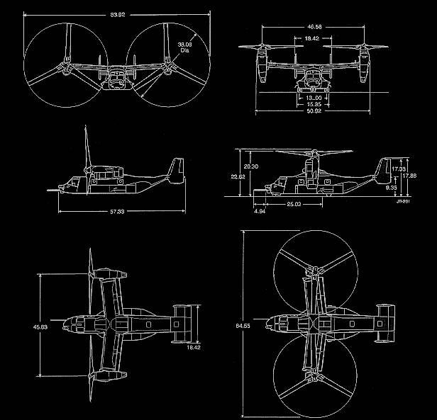 Osprey Elicottero : Vtol