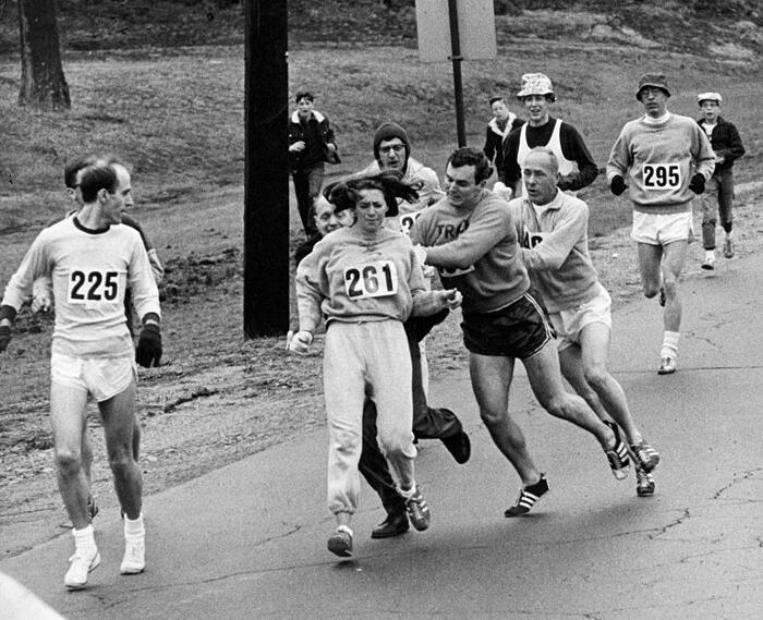Kathrine Switzer: la prima donna maratoneta
