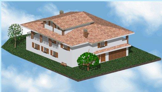 realizza proposte di progetti architettonici ex novo villette