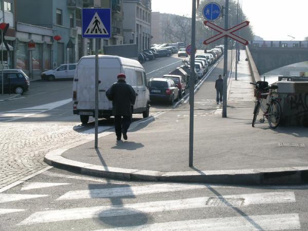 Punti neri ostacoli alla circolazione ciclistica for Gradini del ponte curvi