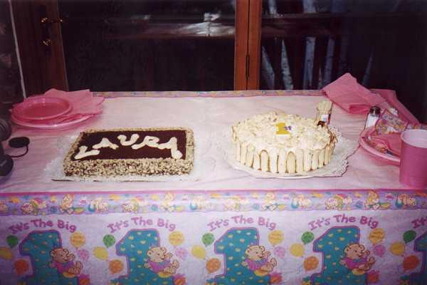 Torta Compleanno Laura.Le Nostre Neonate