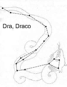 Stelle e costelleazioni drago for Disegno una finestra tra le stelle karaoke
