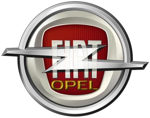 logo fiat-opel by sdoppiamocupido