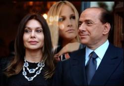 Fotomontaggio Veronica Lario Noemi Letizia Silvio Berlusconi