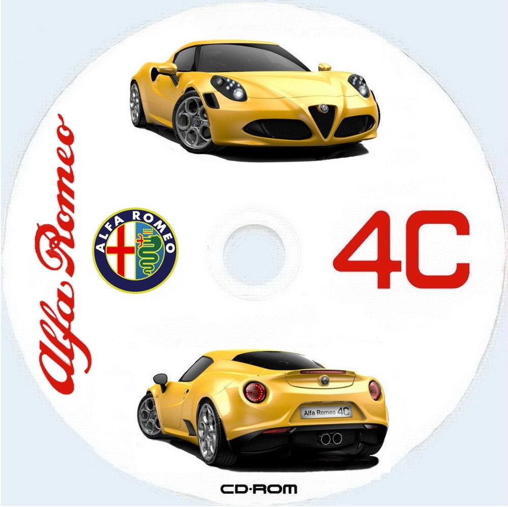 Alfa Romeo 4c - Workshop Manual - Wiring Diagrams
