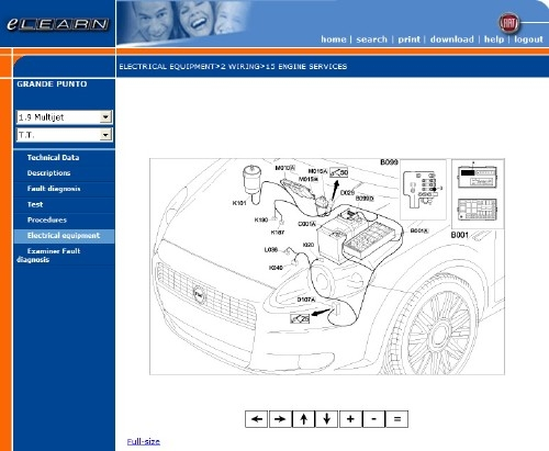 Fiat Grande Punto Elearn Manuale Officina Workshop Manual