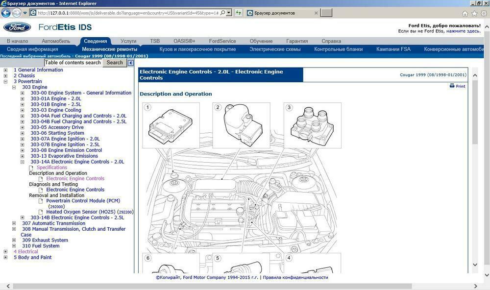 Ford Etis 2015 Workshop Manual Repair