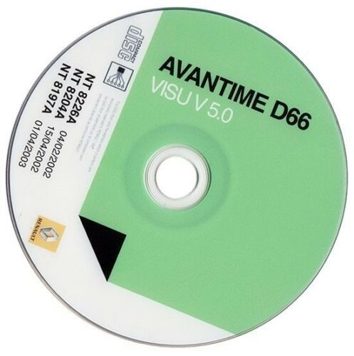 Renault Visu Avantime  D66  Schematics