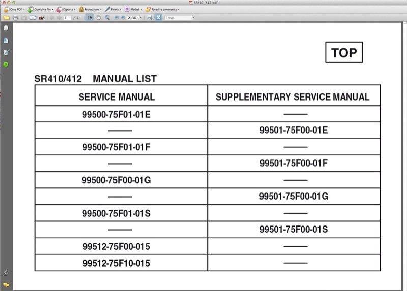 Suzuki Wagon R   93  08 Workshop Manual Workshop Manual Service Wiring Diagrams