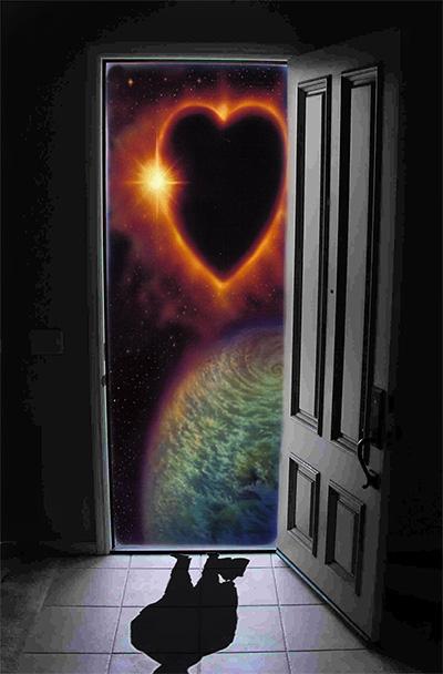 La porta dei sogni voglia di sognare - Cuore da appendere alla porta ...