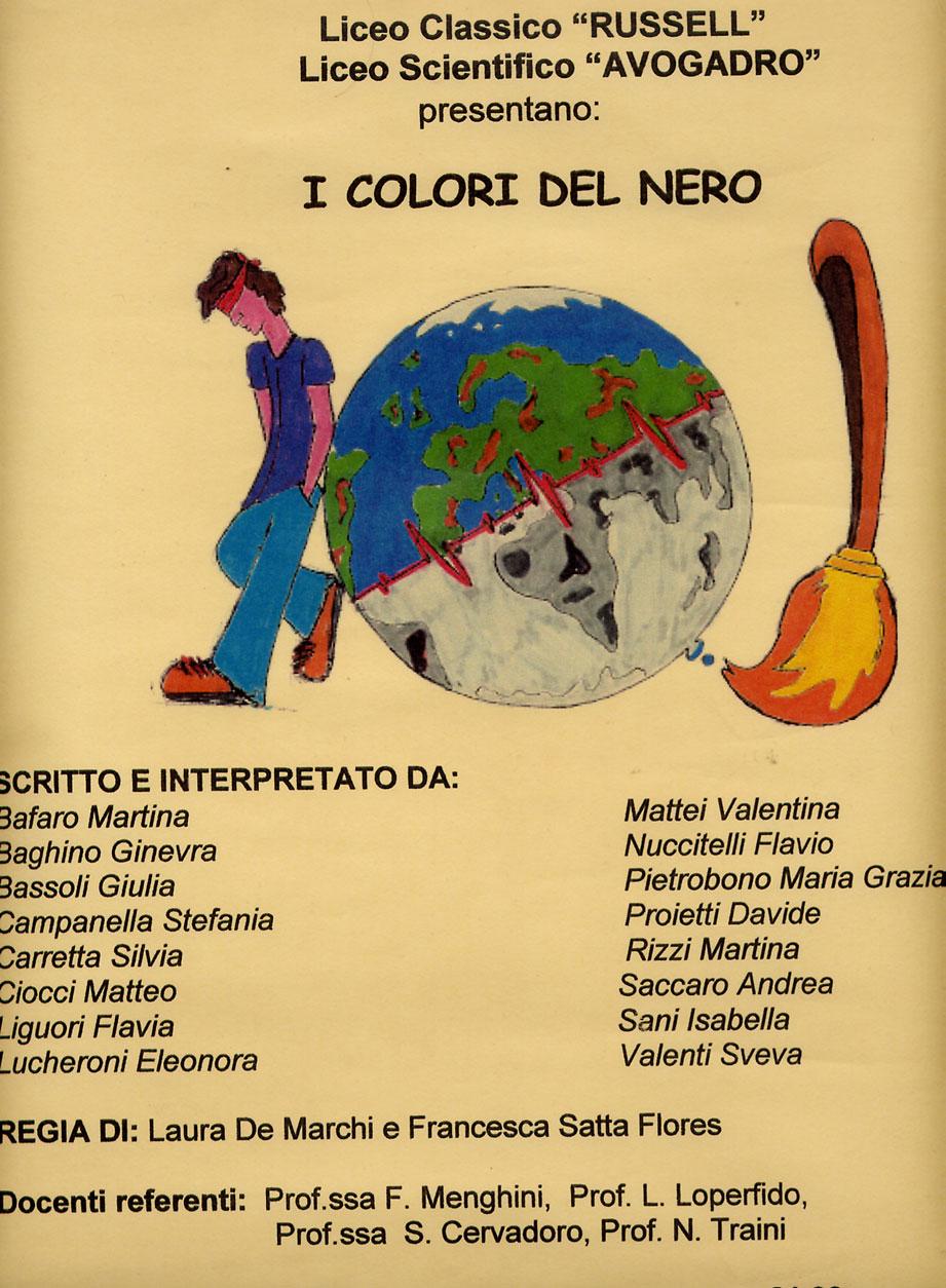 Amato Il Collettivo Teatrale del Liceo Russell di Roma EQ68