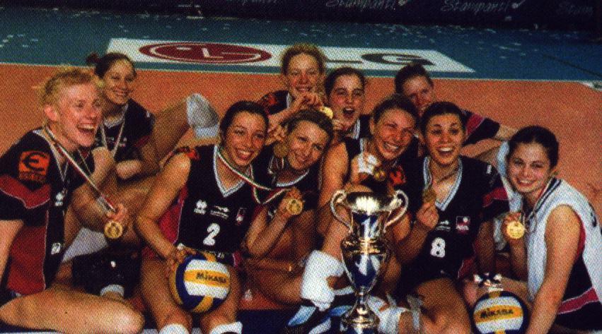 agil trecate vince la coppa italia di A2 2001
