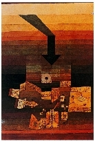 Paul Klee - Luogo colpito - 1922