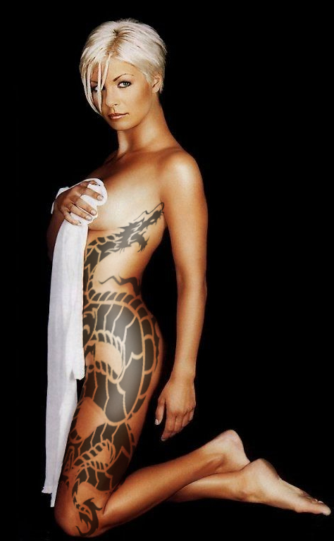 Polynesian Girl Tattoo Designs