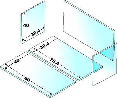 La vasca for Costruire tartarughiera in vetro
