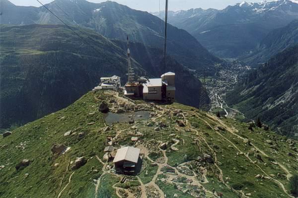 La traversata del Monte Bianco in funivia