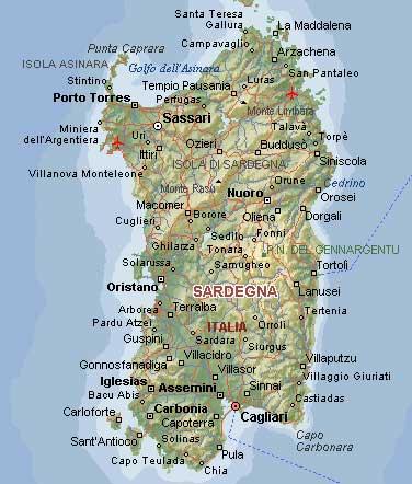 Cartina Sardegna Turistica.Corsica Carta Stradale