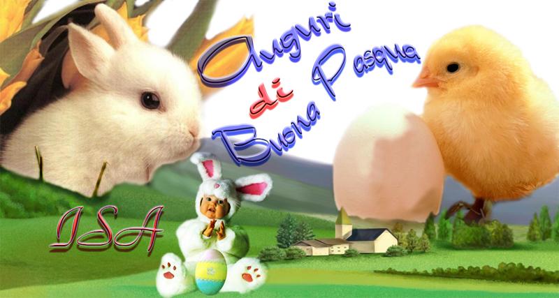 Buona Pasqua da Isa