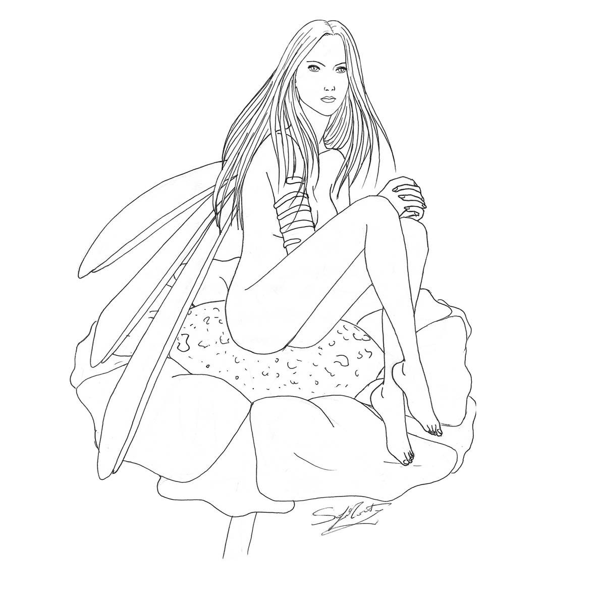 Disegni da colorare e stampare fate timazighin - Barbie colorazione pagine libero ...