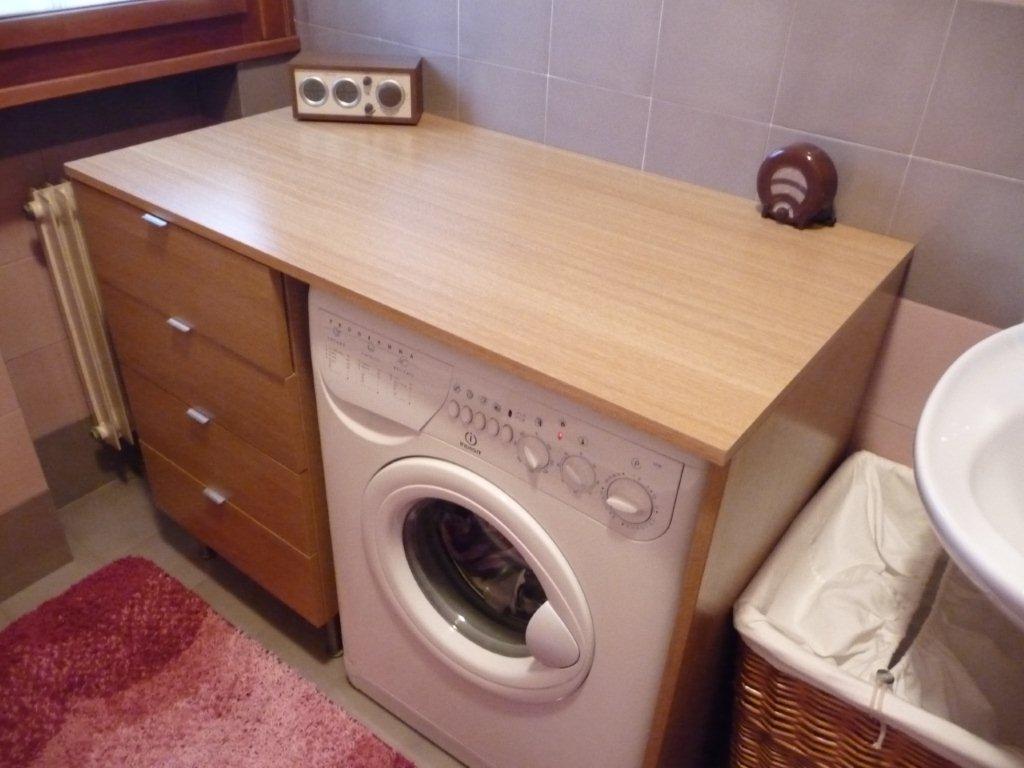 Mobile ikea pax modificato come mobiletto bagno e annesso copri lavatrice - Mobile nascondi lavatrice ikea ...