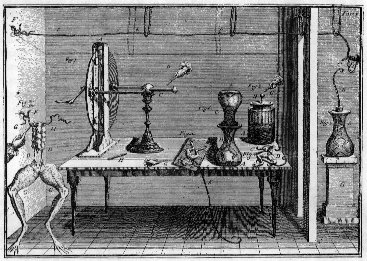 galvani and his frog experiments The true nature of our relationship to electricity began to be revealed in 1771 when a chance observation led luigi galvani based on his frog experiments he.