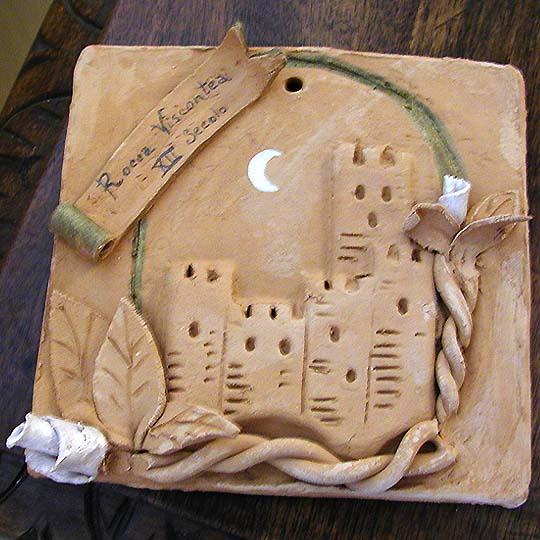 Antica luna - Terracotta di A. Pallastrelli