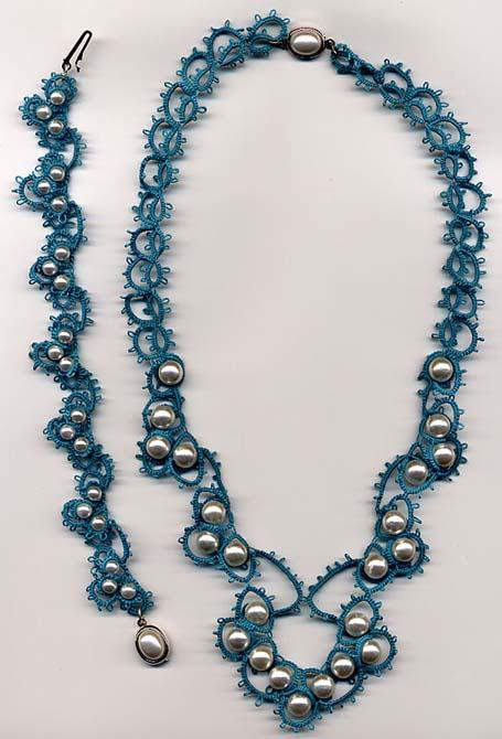 Parure turchesee perle