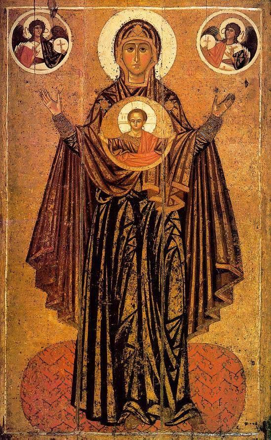 Quel segno della Tutta Santa; La Grande Panaghia  dans immagini e testi, panagia2