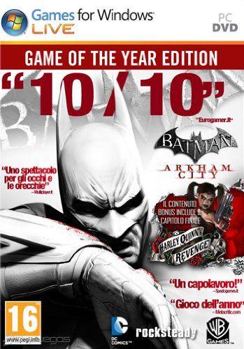 Reminder: batman: arkham city goty & harley quinn's revenge.