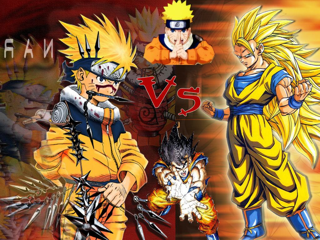 Naruto vs dragon ball z taringa - Naruto and dragonball z ...