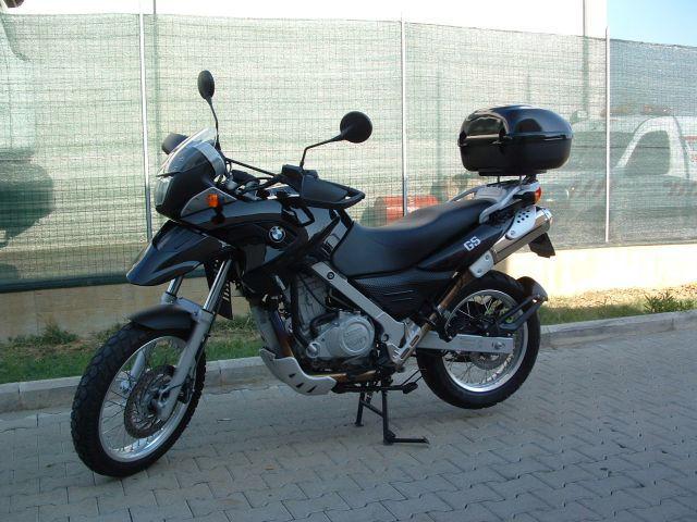JOY CITY JOY600402 MOTO BMW F650GS BLACK 112 MODELLINO DIE CAST MODEL  MotoScala 112