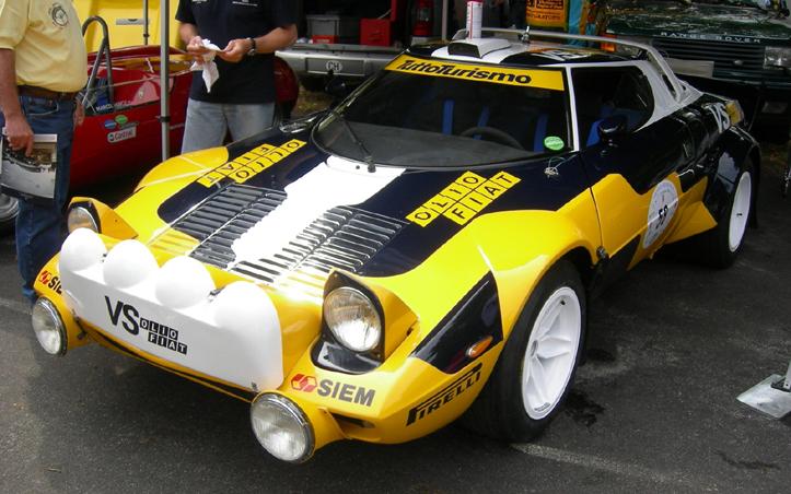 Co Da Thor Drive Hard Lancia Stratos Livrea Olio Fiat