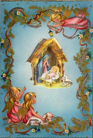Letterine di natale for Immagini da colorare di angeli
