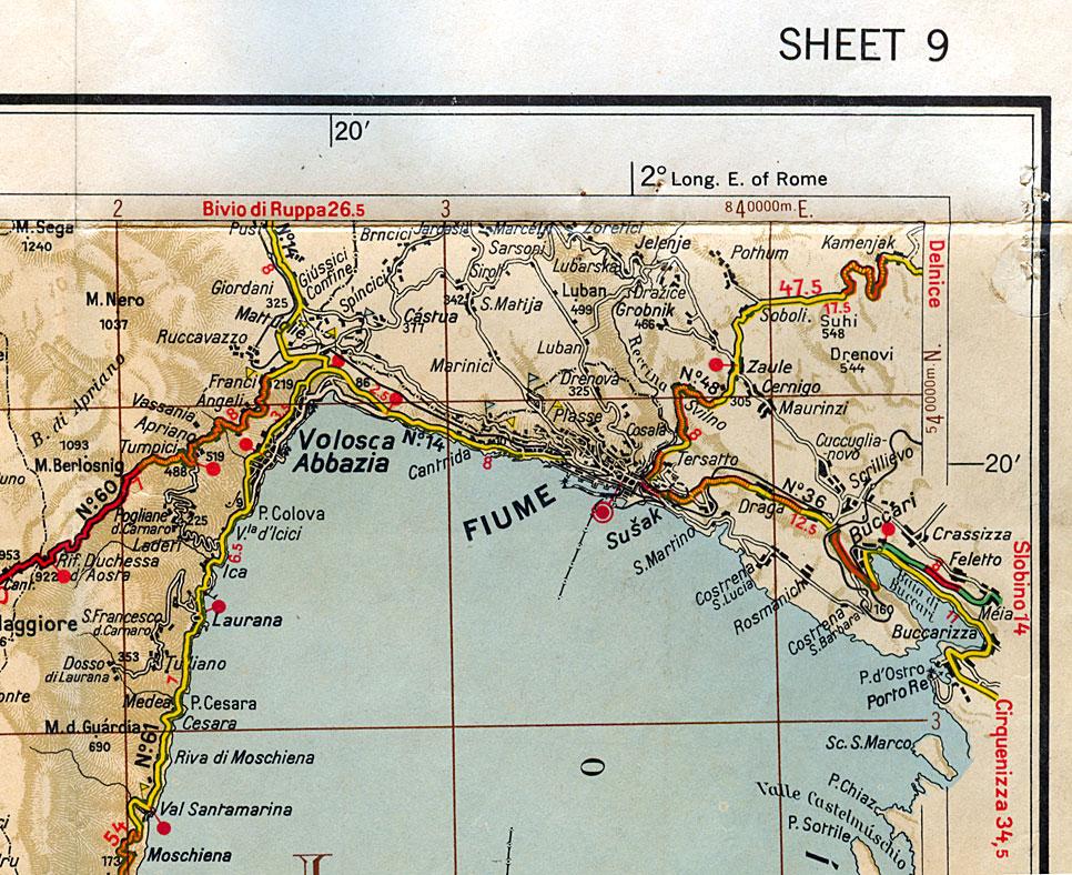 fiume italiana 1940