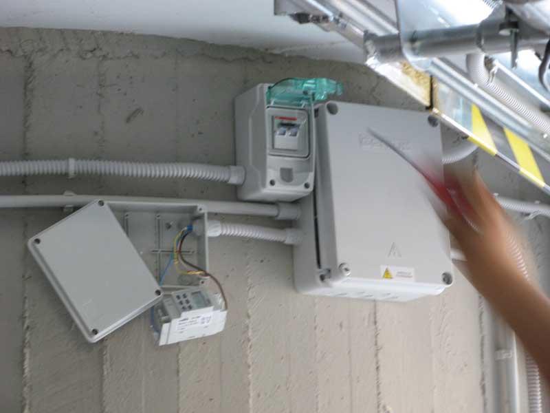 Schema Impianto Elettrico Per Garage : Condominio cedri homepage