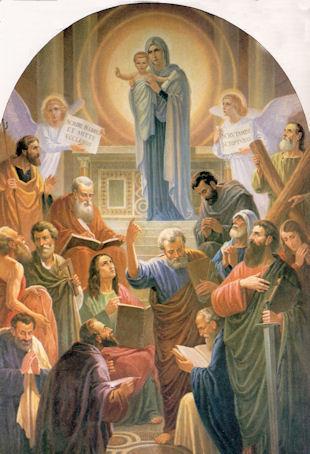 Devozione alla Regina degli Apostoli del Beato Don Alberione