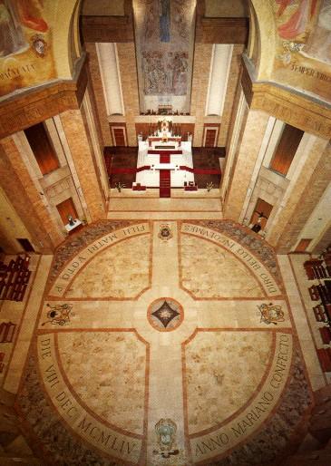 Voto Santuario Regina Apostolorum Beato Don Alberione