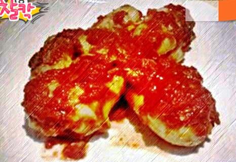 Cosce di pollo prosciutto e pomodoro