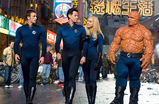 Fantastici quattro sono la prima famiglia di supereroi